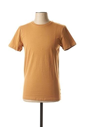 T-shirt manches courtes marron MEXX pour homme