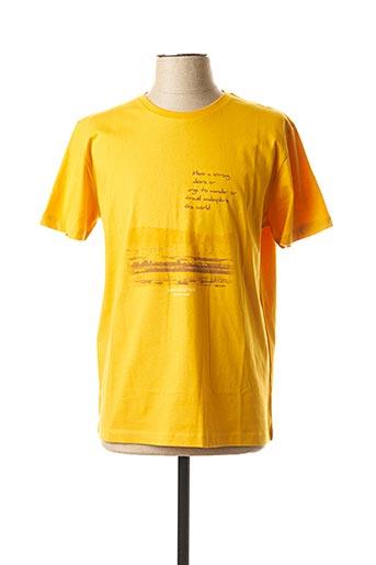 T-shirt manches courtes orange MEXX pour homme