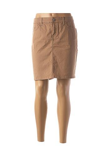 Jupe courte beige TOMMY HILFIGER pour femme