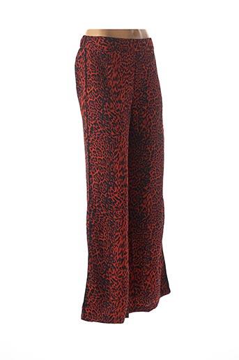 Pantalon casual rouge AKOZ DE TOI pour femme