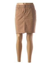 Jupe courte beige TOMMY HILFIGER pour femme seconde vue