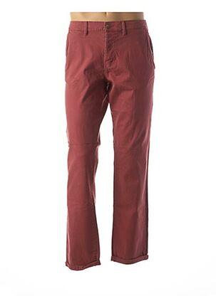 Pantalon casual rouge TOM TAILOR pour homme