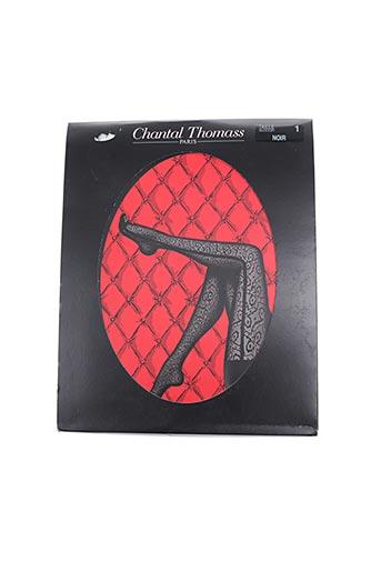 Collants noir CHANTAL THOMASS pour femme