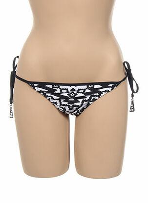 Bas de maillot de bain noir SEAFOLLY pour femme