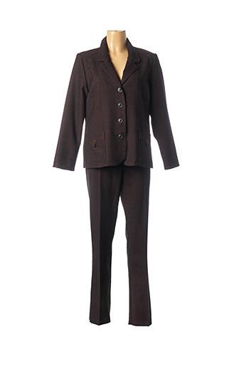 Veste/pantalon marron GEVANA pour femme