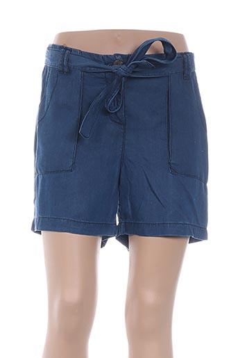 Short bleu CARLA KOPS pour femme