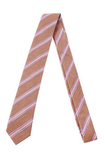 Cravate marron STRELLSON pour homme