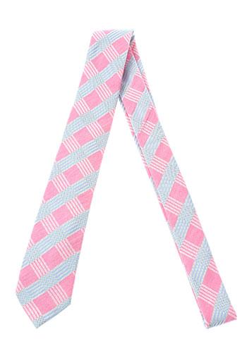 Cravate rose STRELLSON pour homme