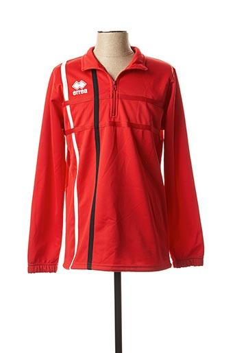Sweat-shirt rouge ERREA pour homme