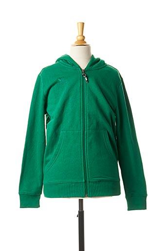 Veste casual vert ERIMA pour enfant