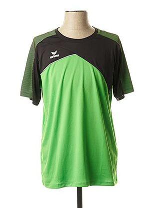 T-shirt manches courtes vert ERIMA pour homme