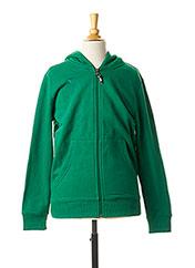 Veste casual vert ERIMA pour enfant seconde vue