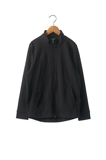 Veste casual noir ERIMA pour enfant