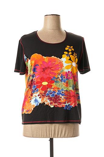 T-shirt manches courtes rose SAINT CHARLES pour femme
