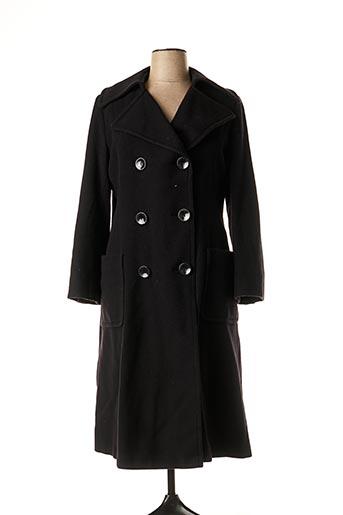 Manteau long noir BASLER pour femme