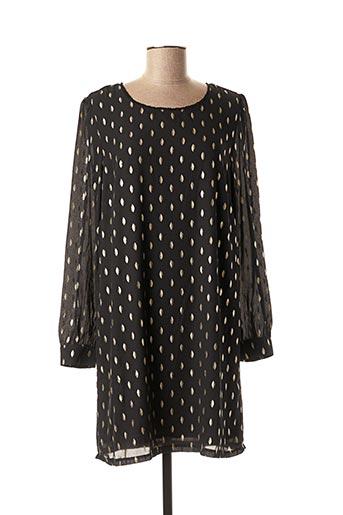 Robe courte noir MISMASH pour femme