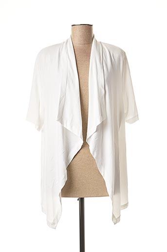 Veste casual blanc CHALOU pour femme