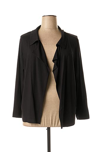Veste casual noir CHALOU pour femme