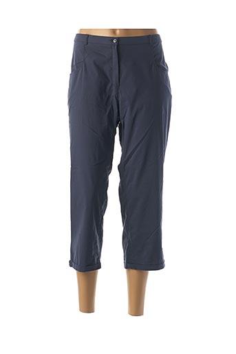 Pantalon 7/8 bleu CHRISTIAN MARRY pour femme