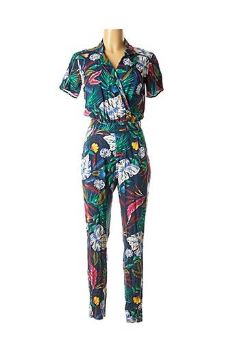 Combi-pantalon bleu ONE STEP pour femme