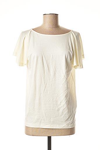 T-shirt manches courtes beige GANT pour femme