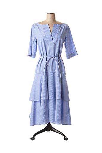 Robe longue bleu GANT pour femme