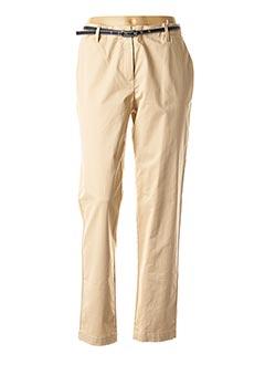 Pantalon 7/8 beige ESPRIT pour femme