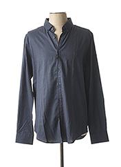 Chemise manches longues bleu DSTREZZED pour homme seconde vue