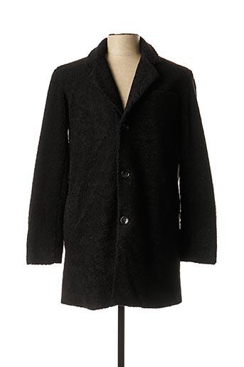 Manteau court noir DSTREZZED pour homme