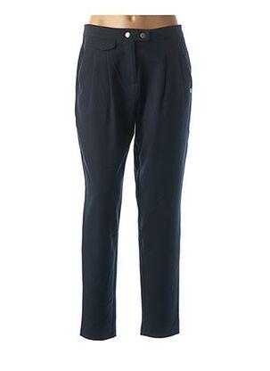 Pantalon casual bleu LOLA ESPELETA pour femme