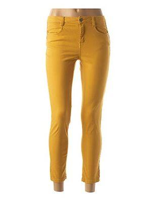 Pantalon casual jaune LOLA ESPELETA pour femme