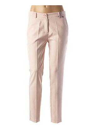 Pantalon casual rose AMELIE & AMELIE pour femme