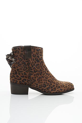 Bottines/Boots marron GOODSTEP pour femme