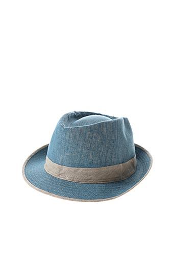 Chapeau bleu AUREGA pour femme