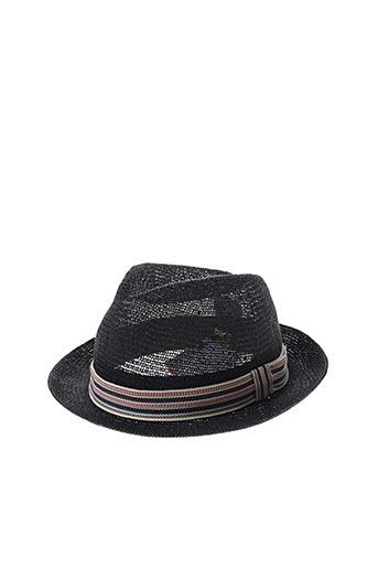 Chapeau noir CITY SPORT pour femme