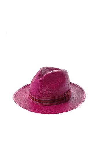 Chapeau rose CITY SPORT pour femme