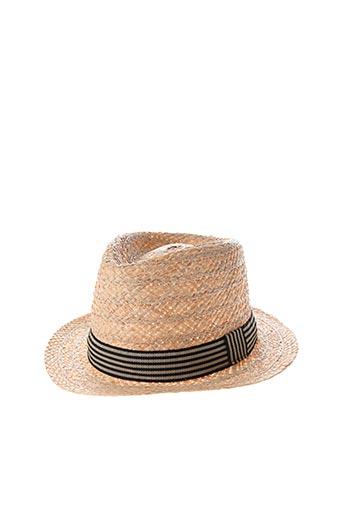 Chapeau beige CITY SPORT pour homme