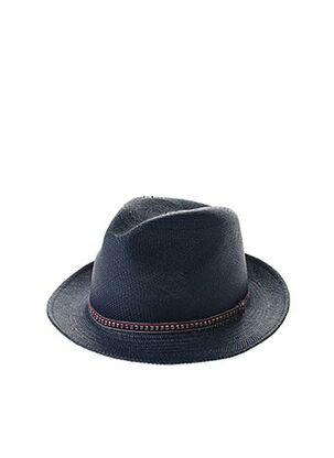 Chapeau bleu HOMERO ORTEGA pour homme