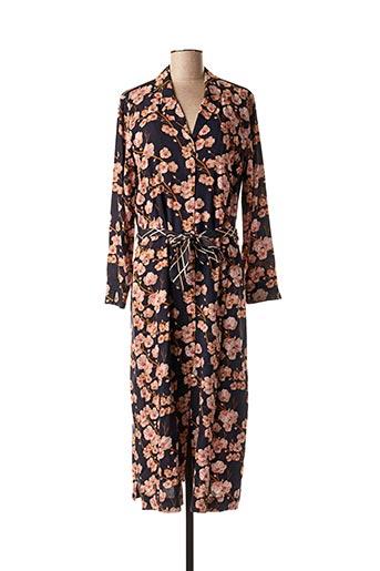 Robe mi-longue rose SUMMUM pour femme