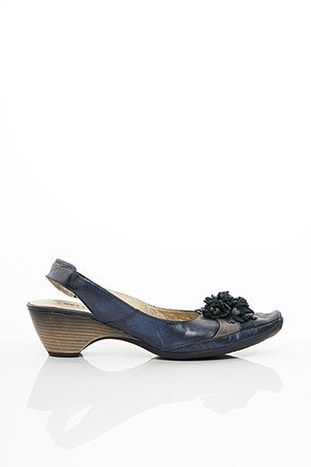 Escarpins bleu J.METAYER pour femme