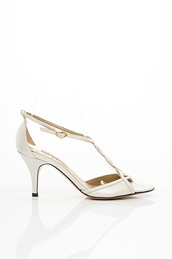 Sandales/Nu pieds blanc AVC pour femme