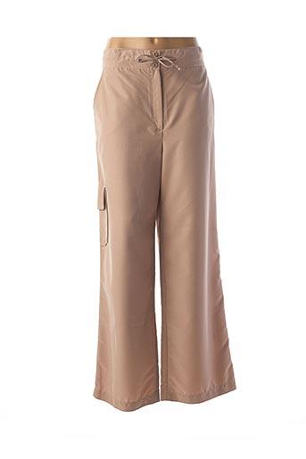 Pantalon casual beige ATLANTA pour femme