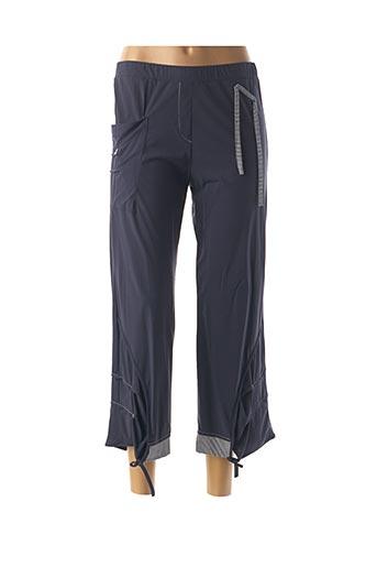Pantalon casual bleu FEMMES JE VOUS AIME pour femme