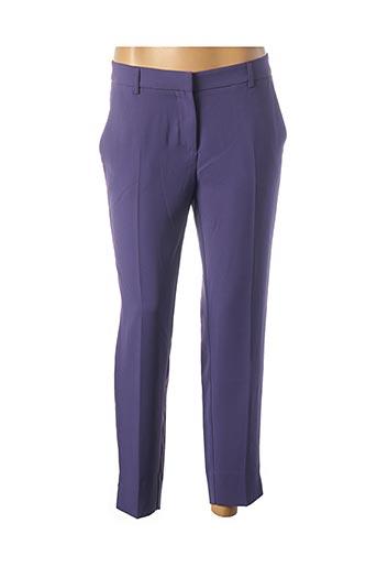 Pantalon 7/8 violet OTTOD'AME pour femme