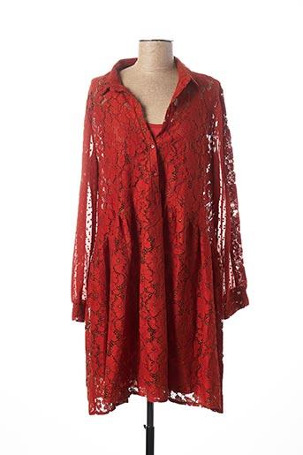 Robe mi-longue orange LOLITAS & LOLOS pour femme