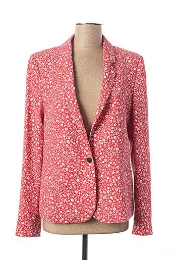 Veste chic / Blazer rouge IKKS pour femme