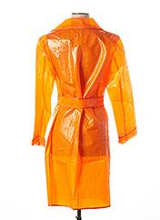 Imperméable/Trench orange RINASCIMENTO pour femme seconde vue