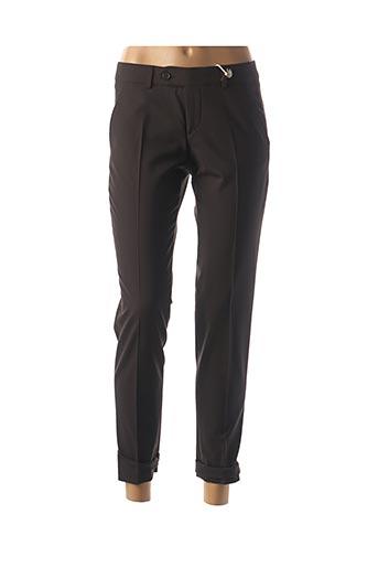 Pantalon 7/8 noir QUIET pour femme