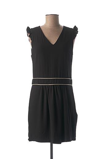 Robe courte noir NOEMIE & CO pour femme