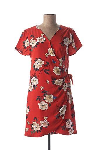 Robe courte rouge CHERRY pour femme